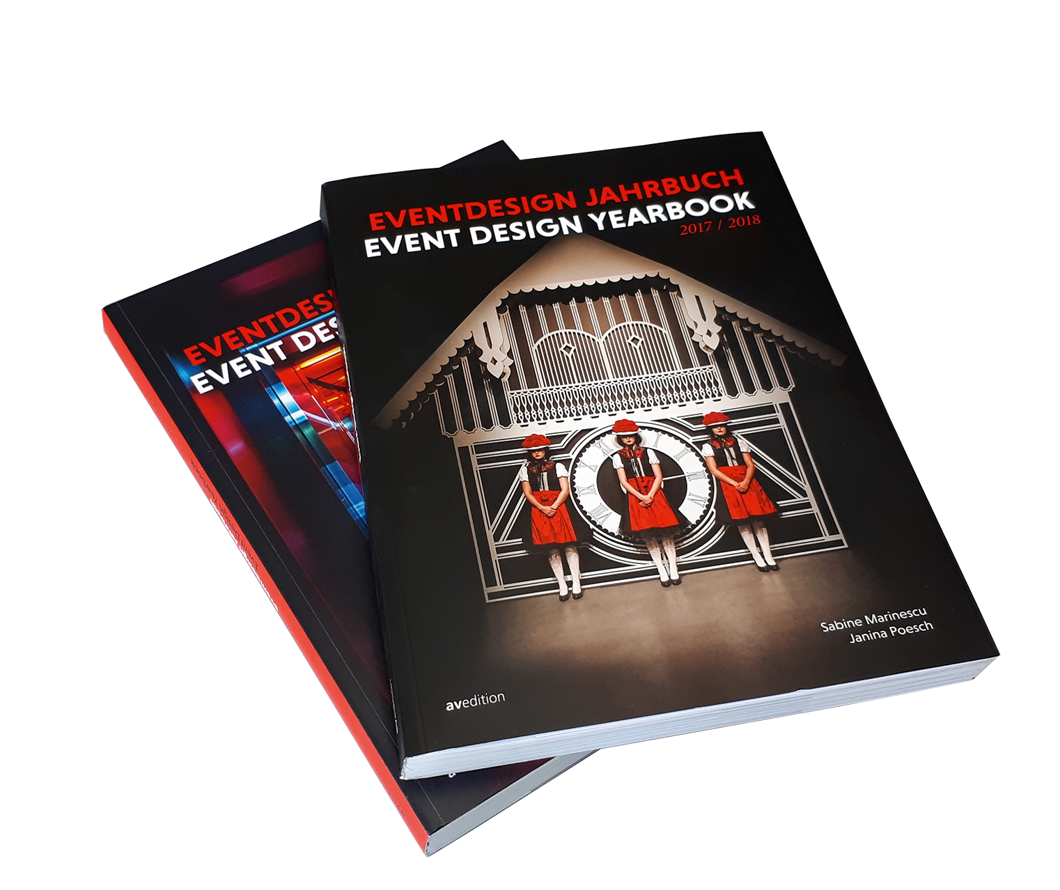 Bundle Eventdesign Jahrbuch 2016–2018
