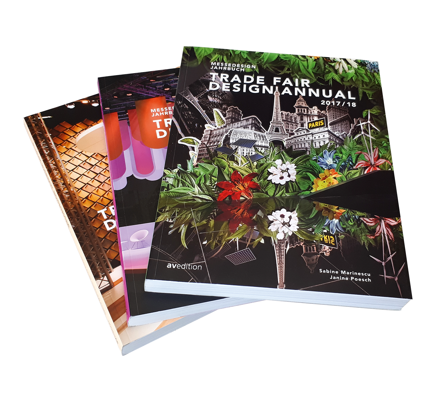 Bundle Trade Fair Design Annual  2017/18, 2016/17, 2015/16